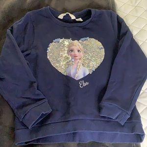 Girls Frozen Sweatshirt